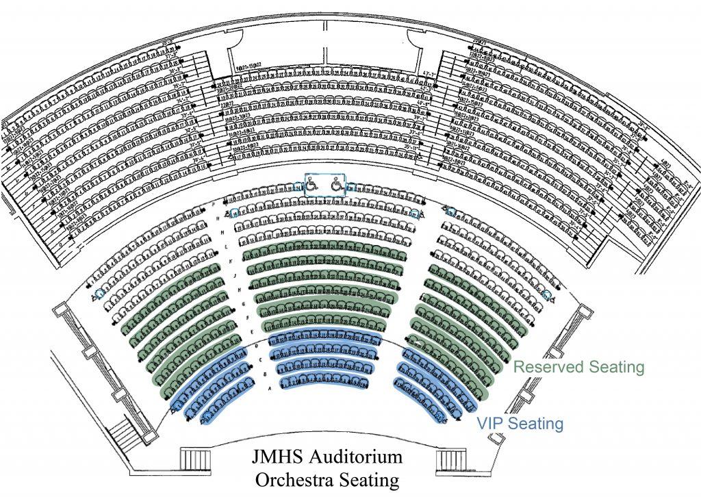 Auditorium Orchestra Seating-1